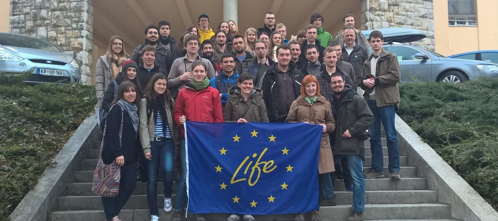 IFSA Winter Meeting 2015 at Slovenian Forestry Institute